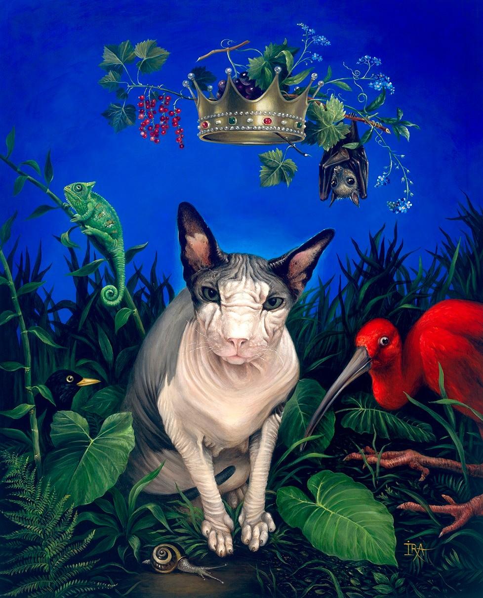 Irena Aizen - King. Fine Art Prints