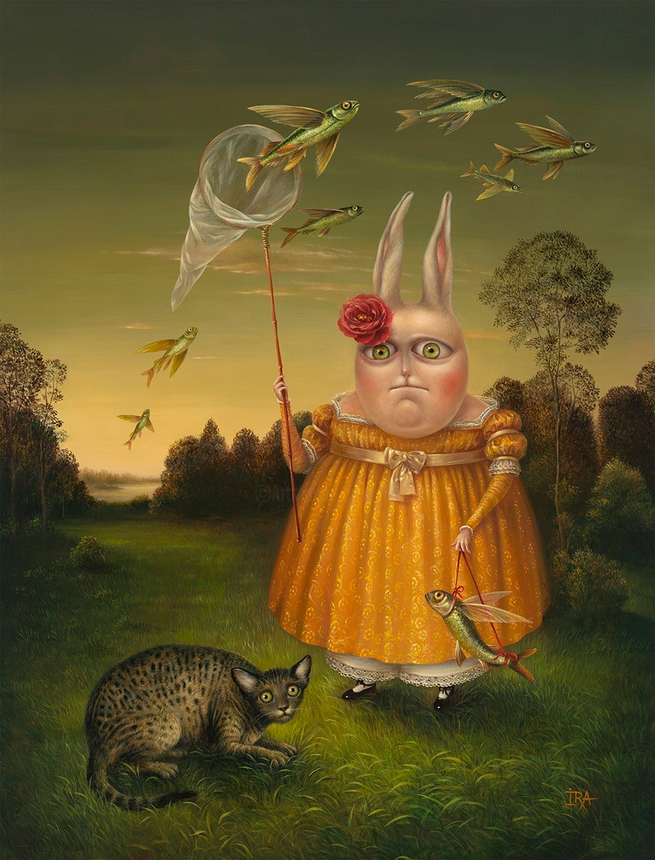 Irena Aizen - Bird-Catcher-3. Fine Art Prints