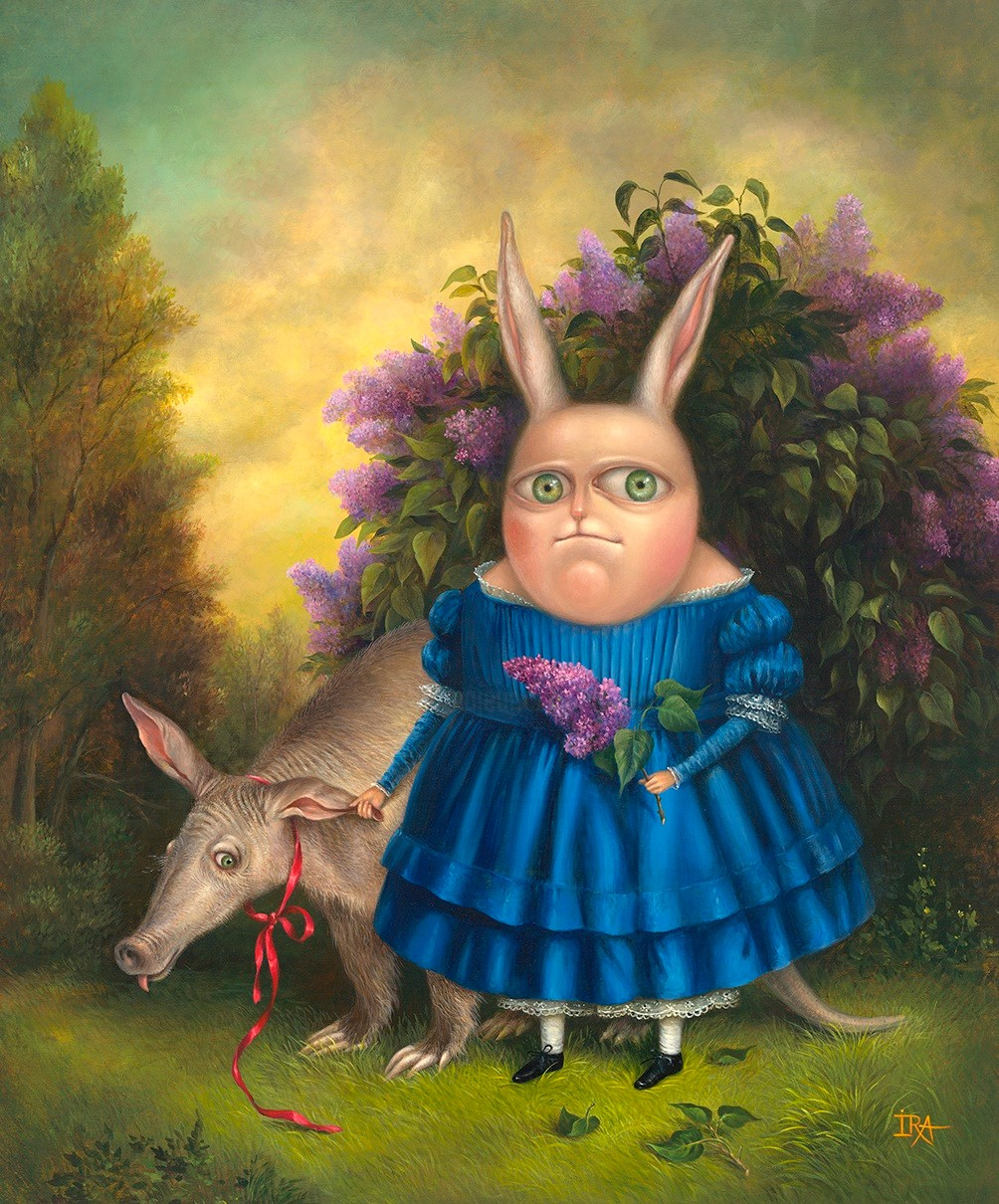 Irena Aizen - Lilacs bloomed. Fine Art Prints