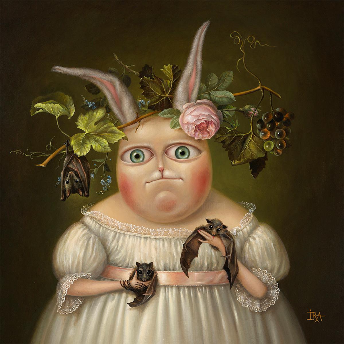 Irena Aizen - Bats-fancier. Fine Art Prints