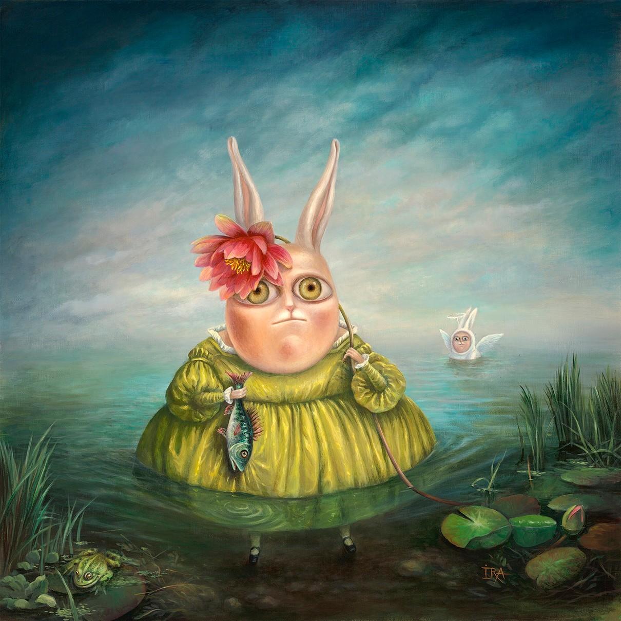 Irena Aizen - Tobias and the Angel. Fine Art Prints