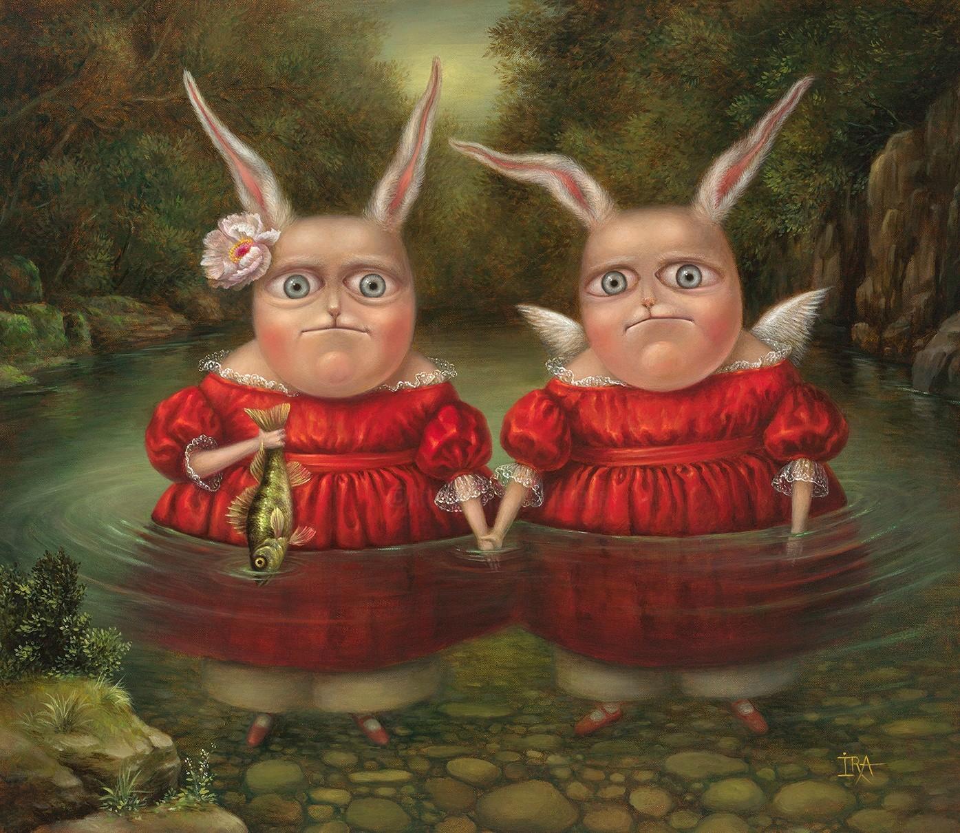 Irena Aizen - Tobias and the Angel-2. Fine Art Prints