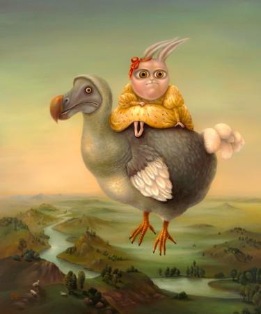 Flying Dodo. Fine Art Prints
