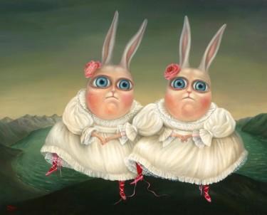 Dancing Twins. Fine Art Prints