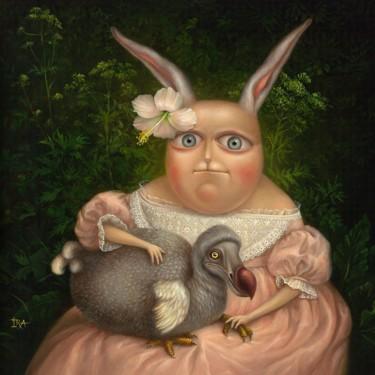Portrait with Dodo. Fine Art Prints